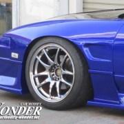 Car modify Wonder 30mm Fender Flare 180sx Front 2