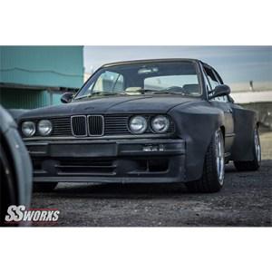 SSworxs Bmw E30 Aggressive Widebody Fenders
