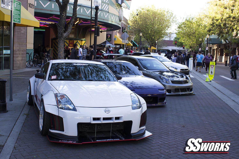 Fast 8 Movie Premier Car Show