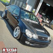 N-style custom aristo gs300 fender flare 2a