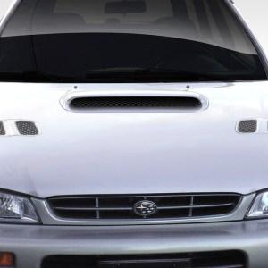 1993-2001 Subaru Impreza Duraflex STI Look Hood - 1 Piece