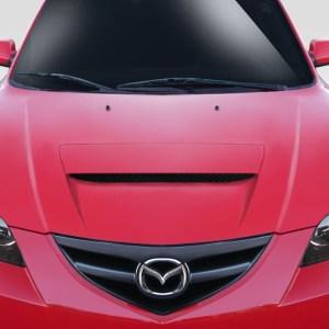 2004-2008 Mazda 3 4DR Duraflex M-Speed Hood - 1 Piece