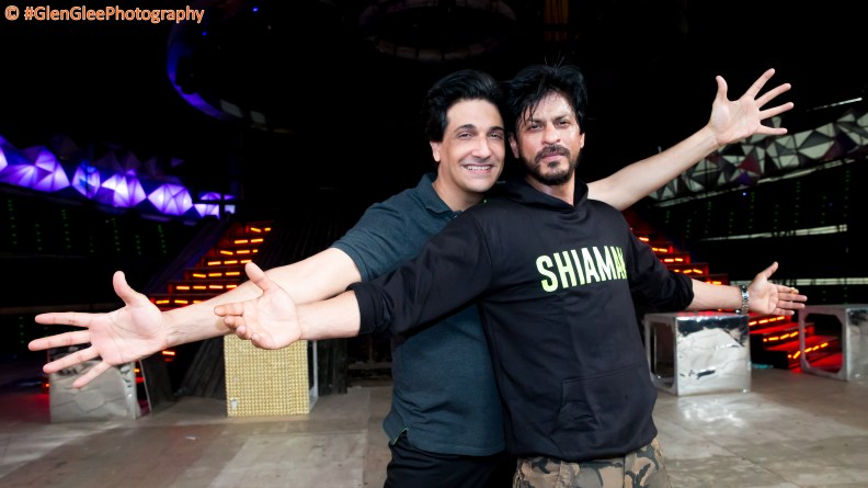 Shiamak and Shah Rukh Khan