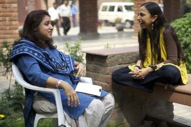 Shonali Bose with Revathi