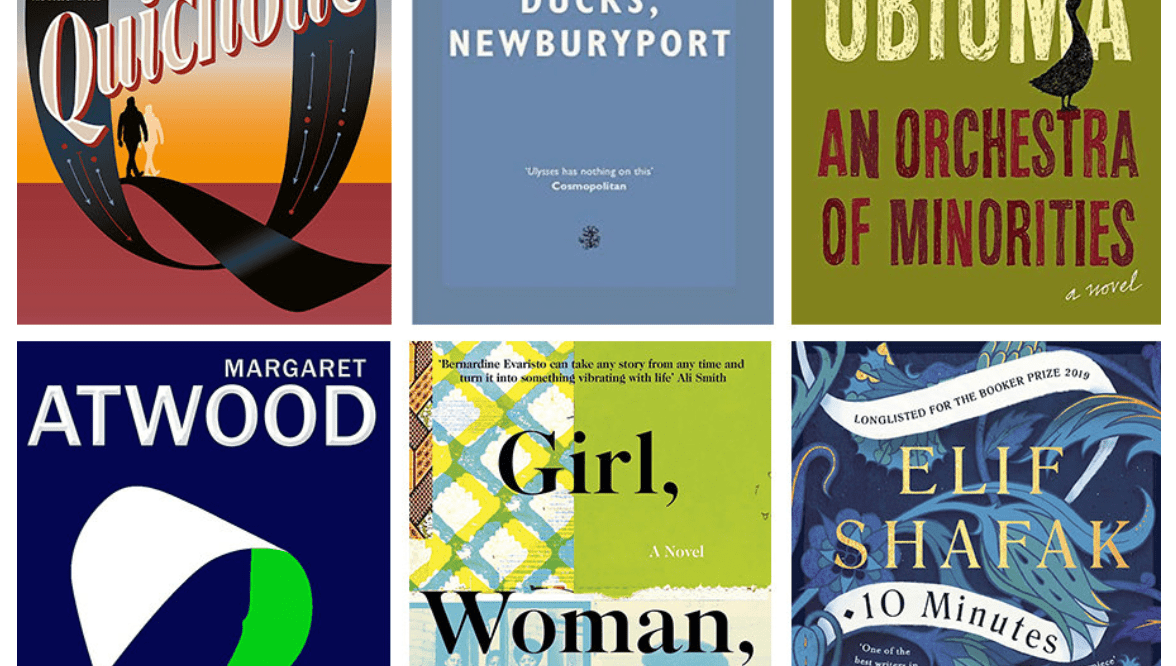 Booker Prize Nominee Covers