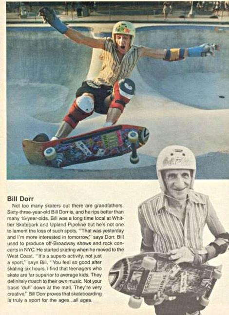 Artikel über 63-jährigen Skater (gefunden bei slapmagazine.com)