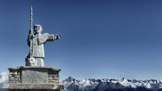St. Bernard: Der Patron der Alpen auf dem Europaweg