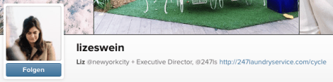 ...hosted by Liz Eswein, Executive Director at the social media agency 247 Laundry Service...