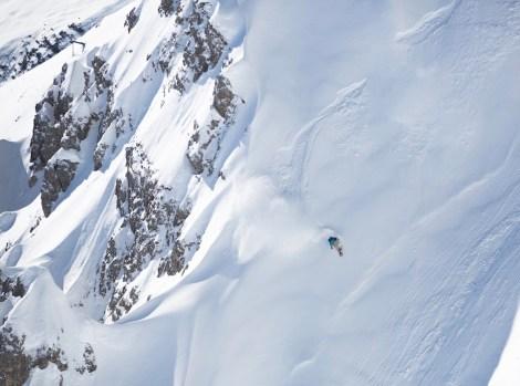 Eine von Nicolas' Lines im Karwendelgebirge 3/3 (Foto: Delayon/Ania Wyzykowska)