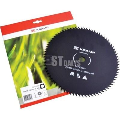 Krūmų peilis 80 dantukų-255-20-1.6 mm