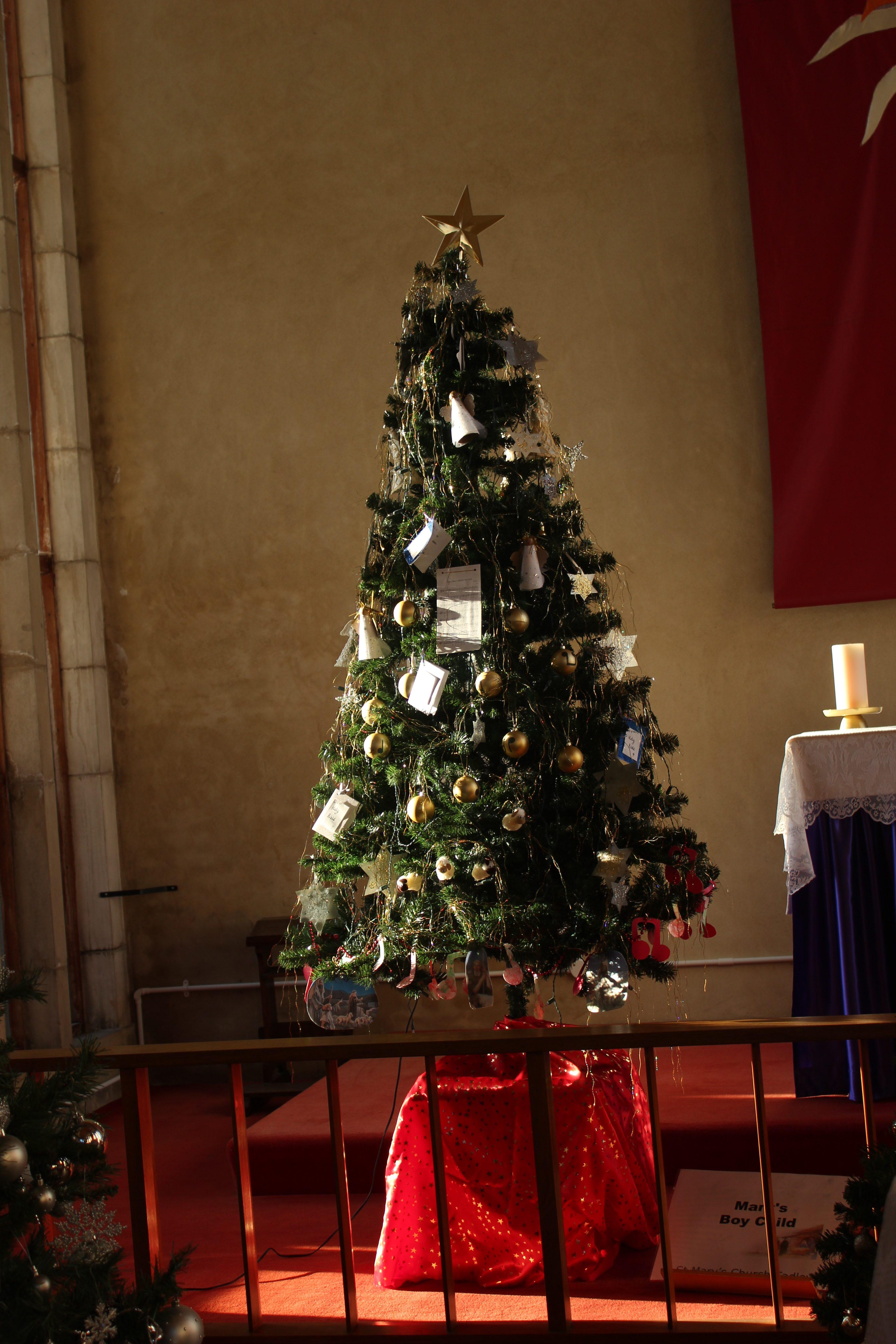 "St. Mary's Tree on the theme ""Mary's Boy Child"""