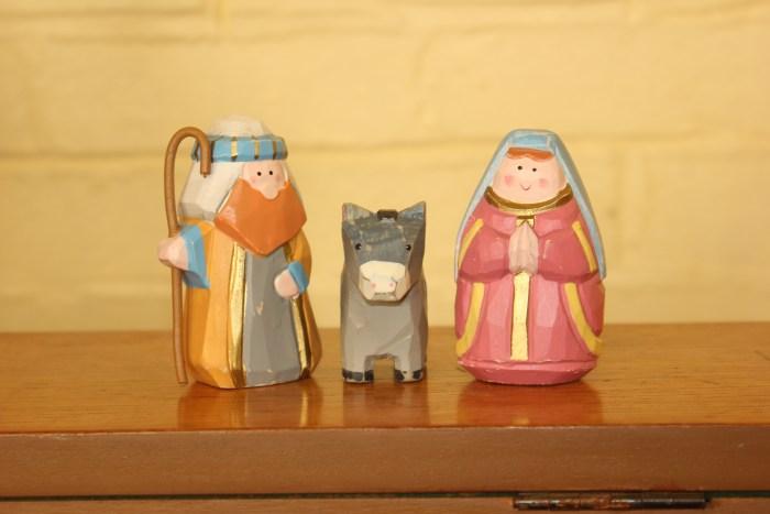 St. Mary's Posada figures