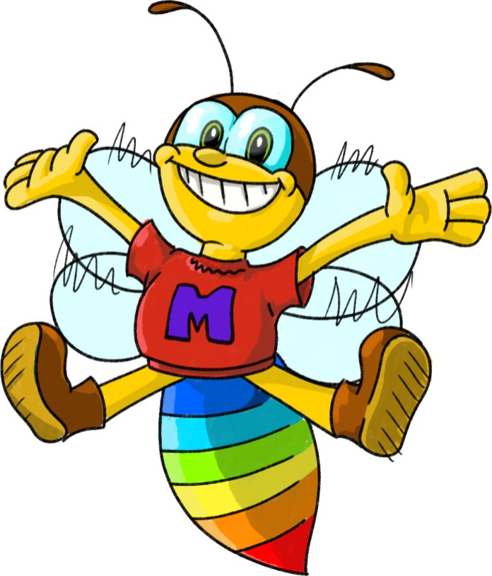Image of a Bee the Project Mascot