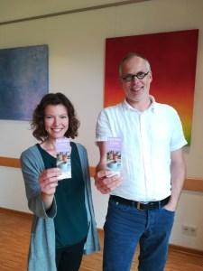 Mergenthaler und Thomas Hußmann leiten das Café Mini