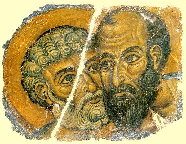 Heiliger Paulus – Freske