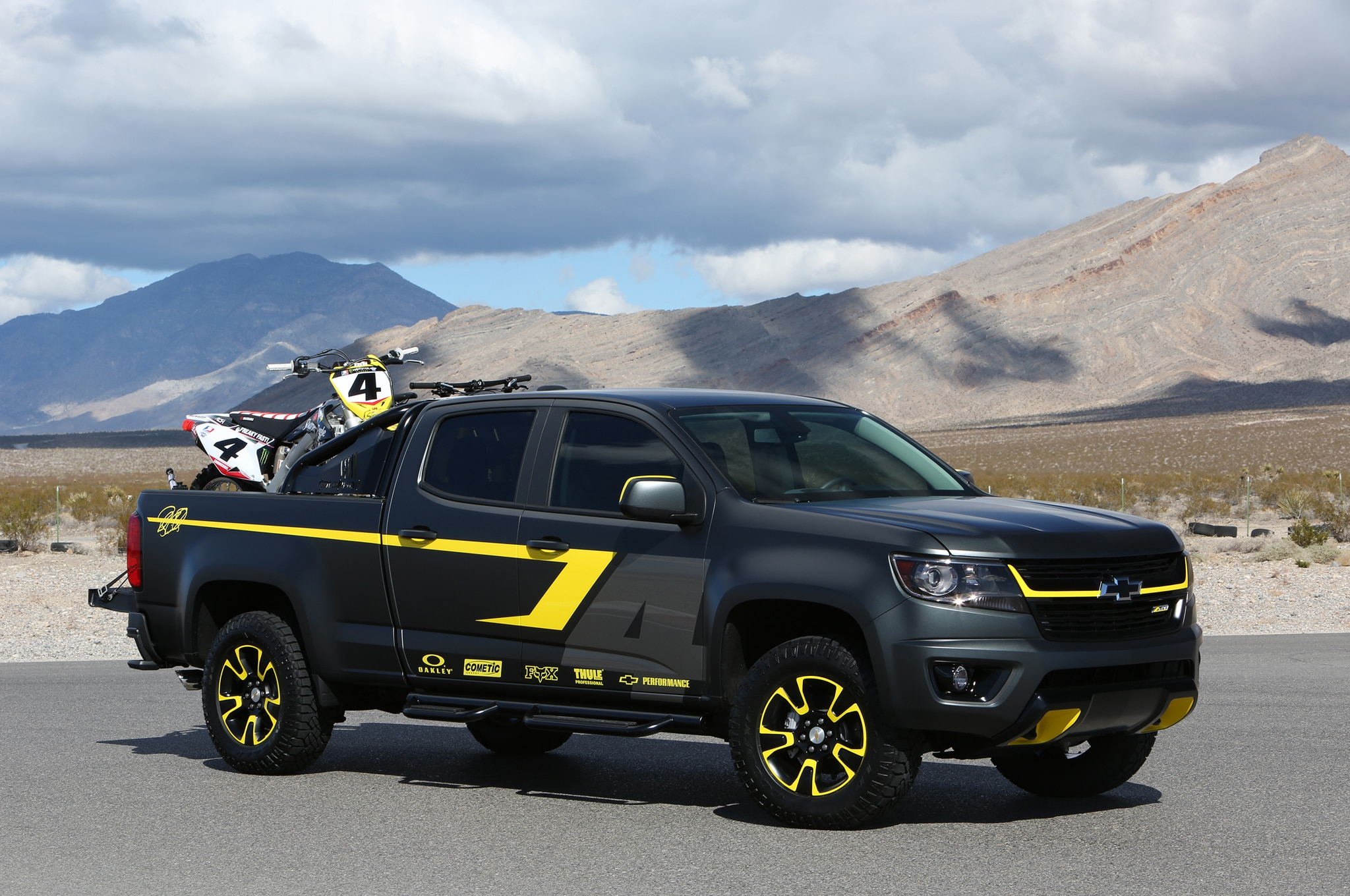 2015 Chevrolet Colorado Performance Concept for 2014 SEMA Show front three quarter 02 diagram circuitos wiring harness chevrolet colorado 2012  at crackthecode.co
