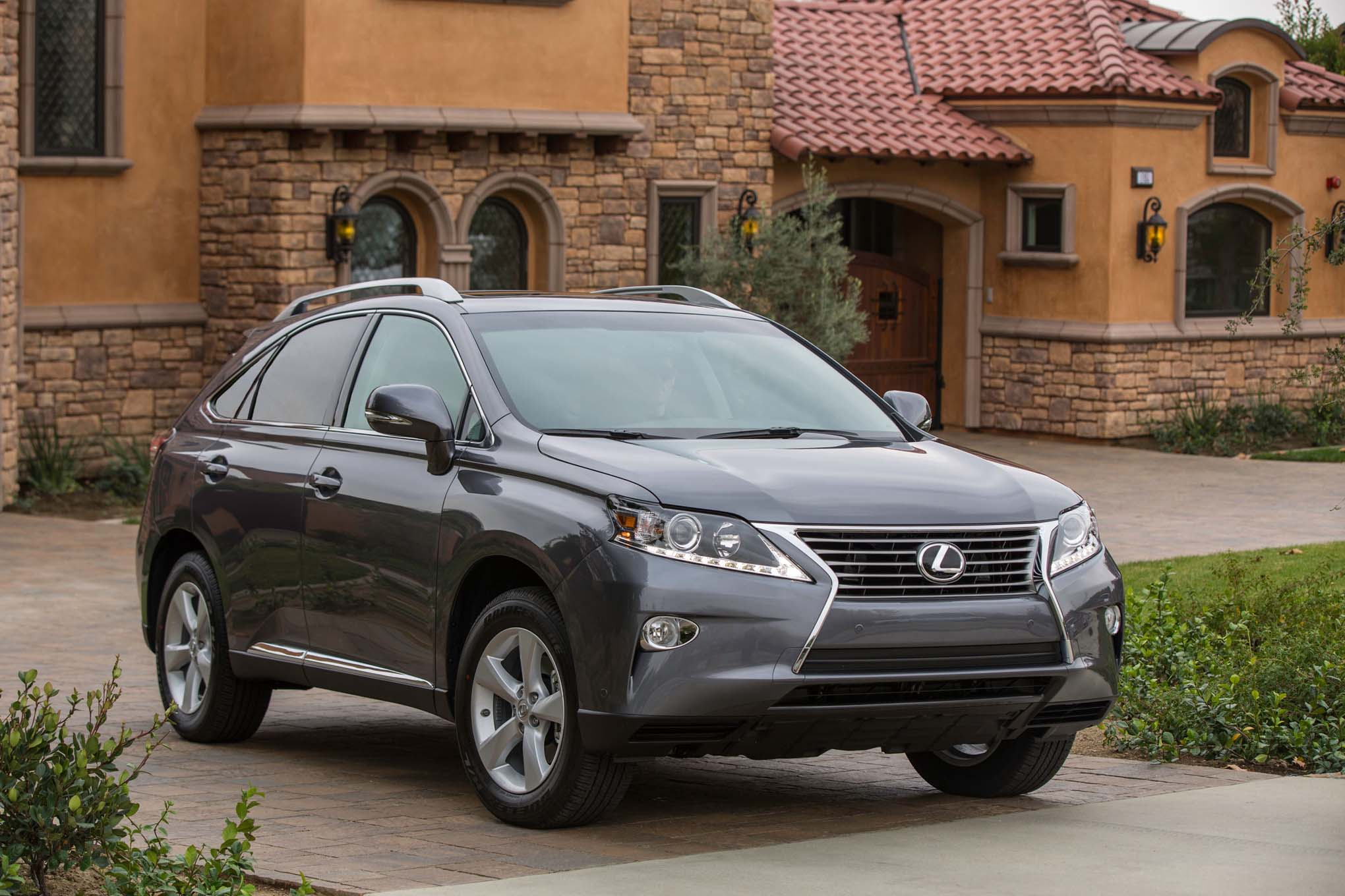 2015 Lexus RX350 and RX450h Updated Automobile Magazine