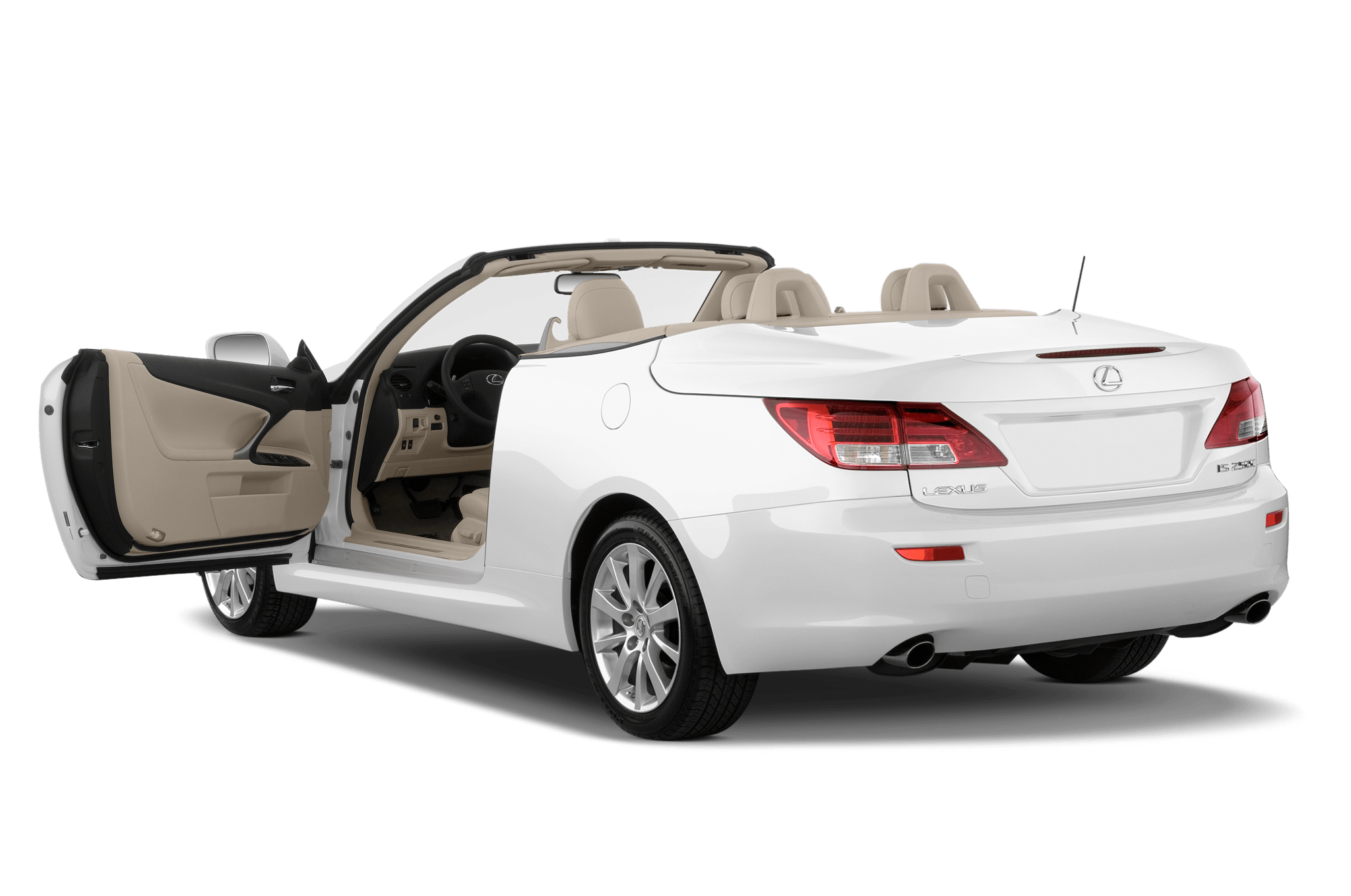 Pricing for 2010 Lexus RX Hybrid and 2010 Lexus IS Convertible