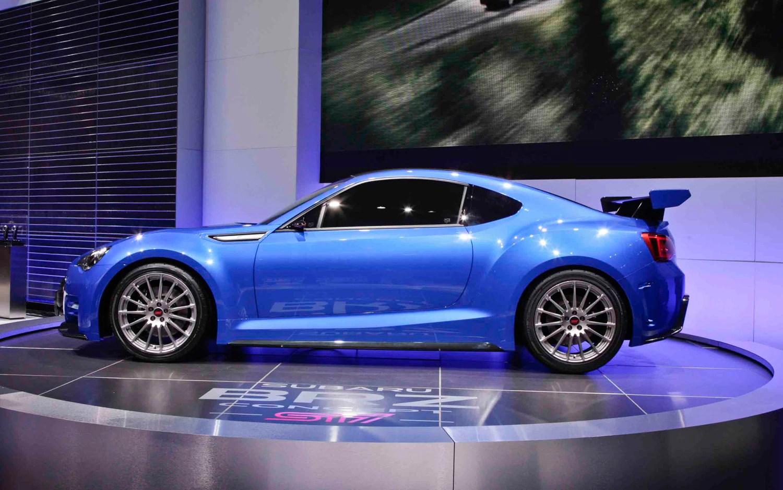 First Look Subaru Brz Sti Concept