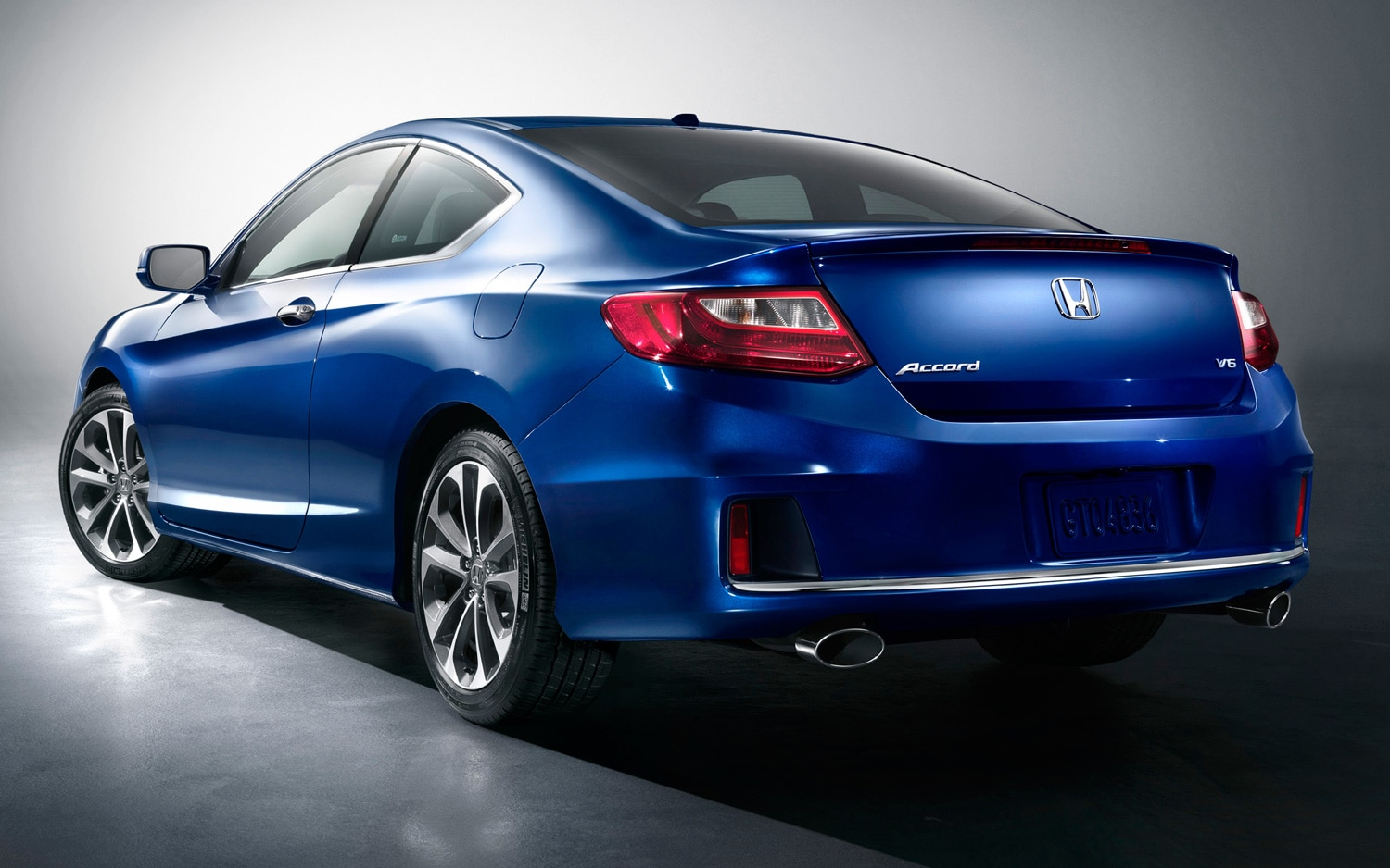 Back Honda Accord 2012 Coupe