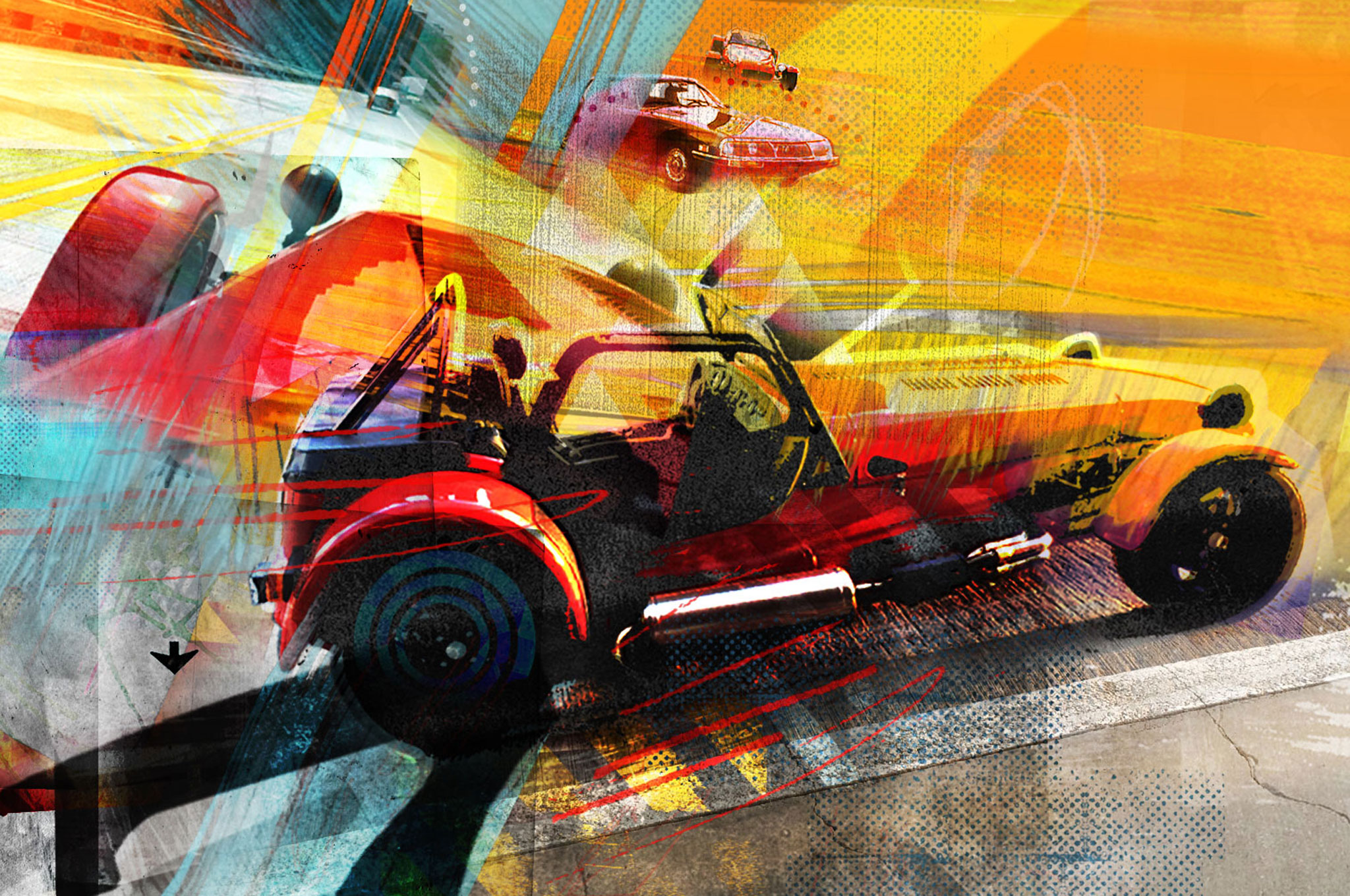 Driving A Quickly Built Caterham Seven Kit Car