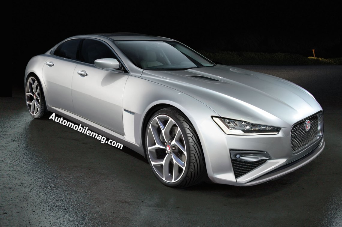 future luxury cars: jaguar xj, bmw 5/6 series, and infiniti q60