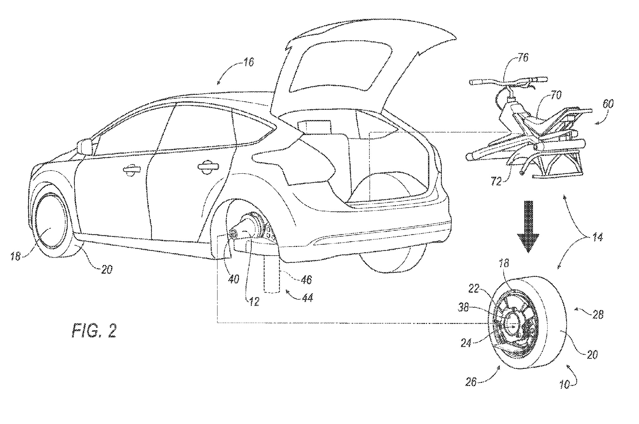 Ford Patents System For Turning Your Car S Wheel Into A