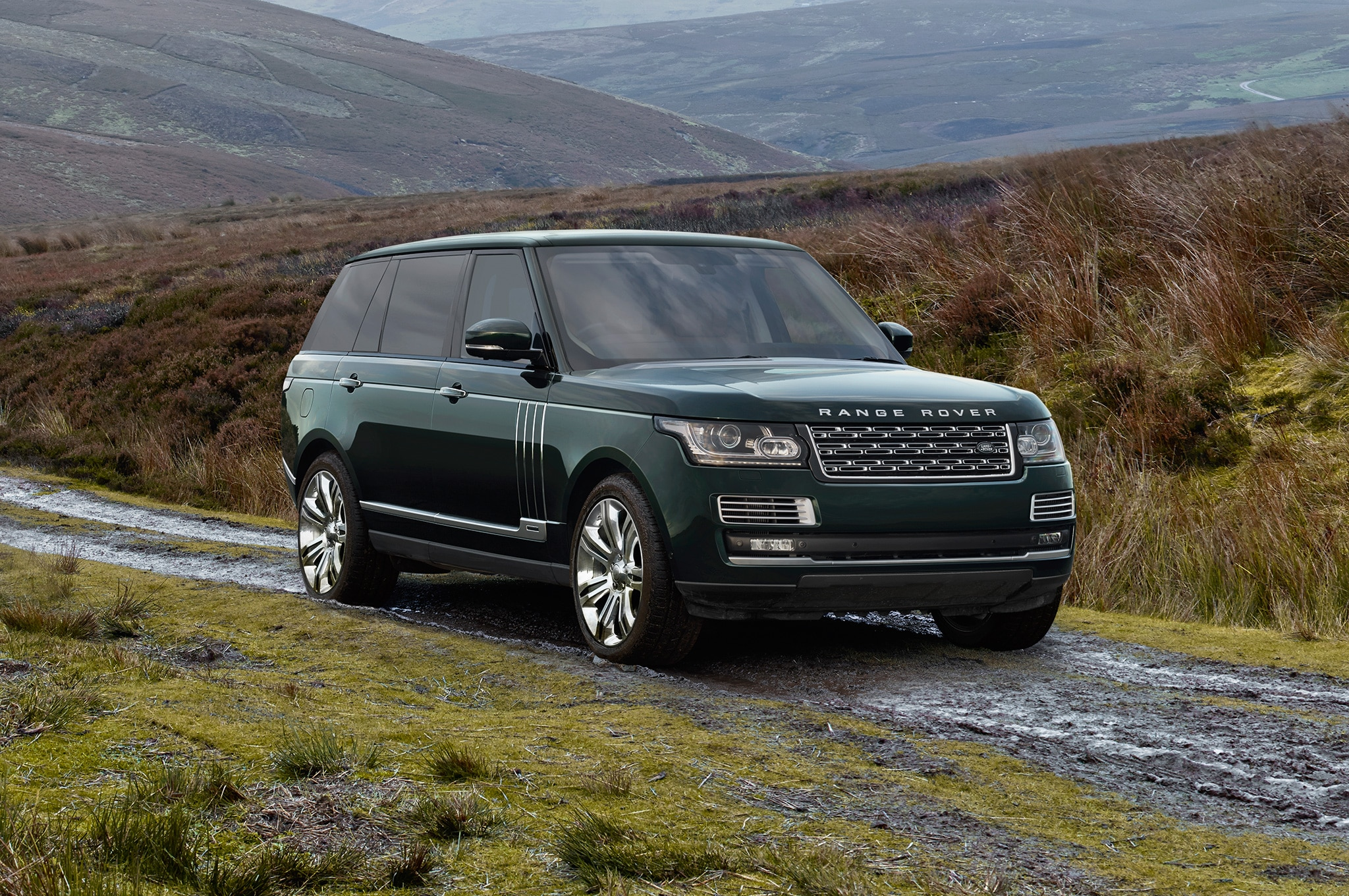 2016 Land Rover Range Rover Adds Holland & Holland Model
