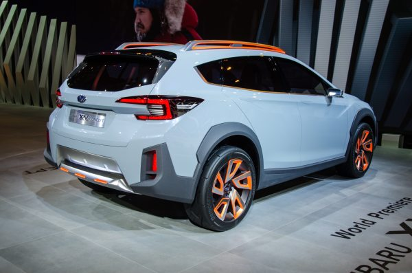 Subaru XV Concept is a Thinly Disguised Look at the Future ...