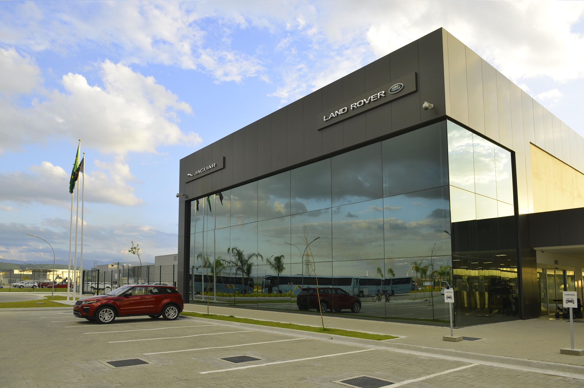 Jaguar Land Rover Opens New Facility in Brazil