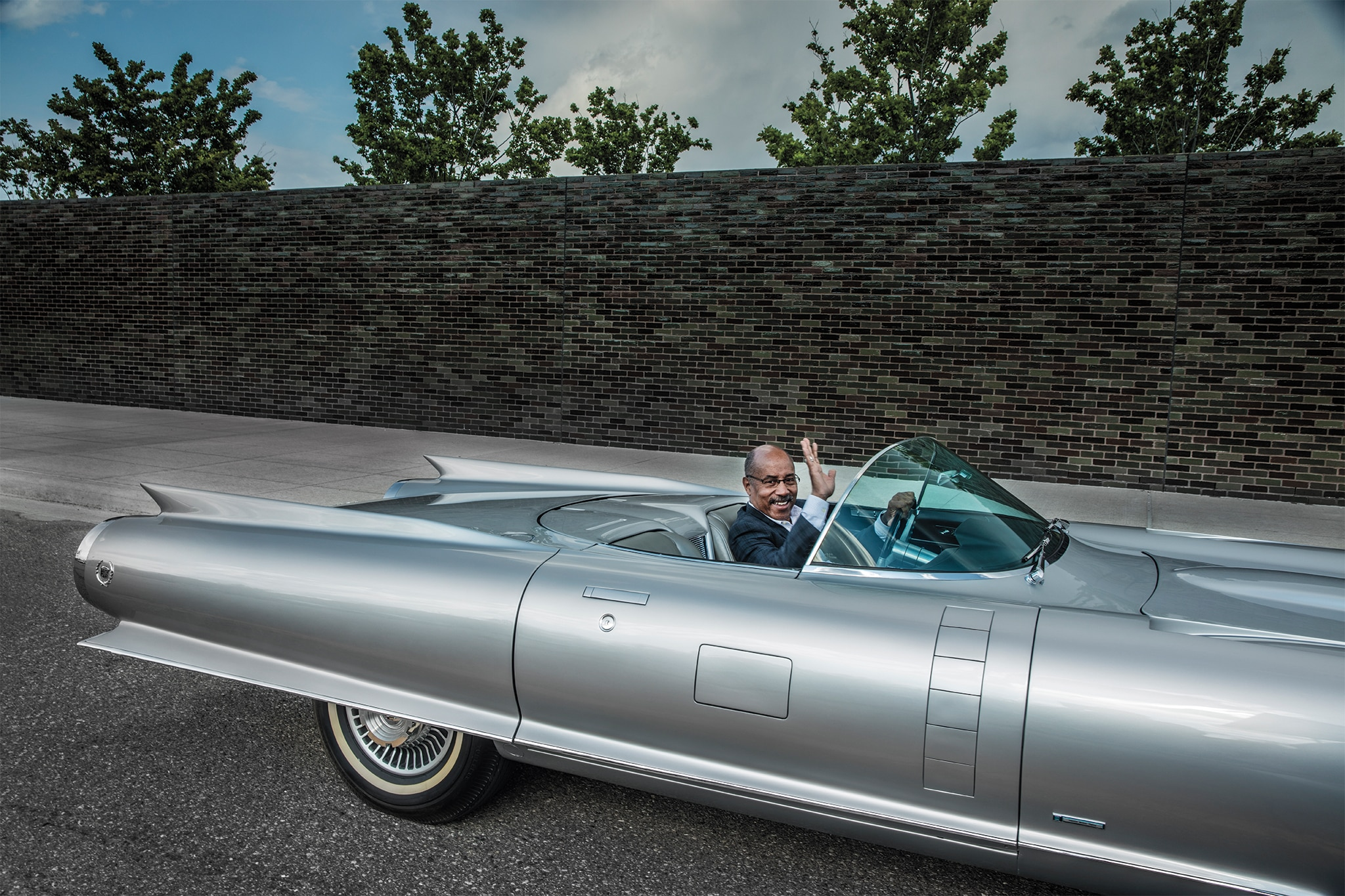 Ed Welburn Drives The Cadillac Cyclone Automobile Magazine