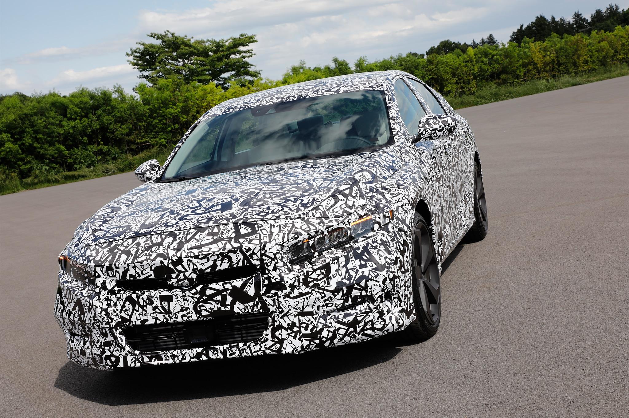 Sampling The 2018 Honda Accords New Powertrain