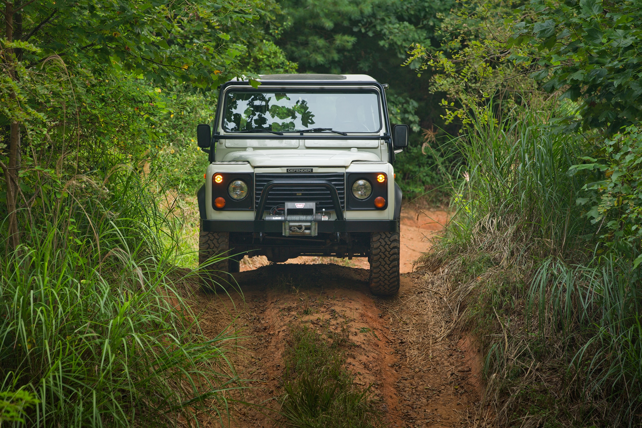 Rare 1983 Land Rover Defender County Station Wagon Heads to Auction