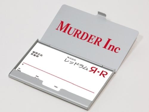 Hakata Tonkotsu Ramens Red Rum / Murder Inc Card Case