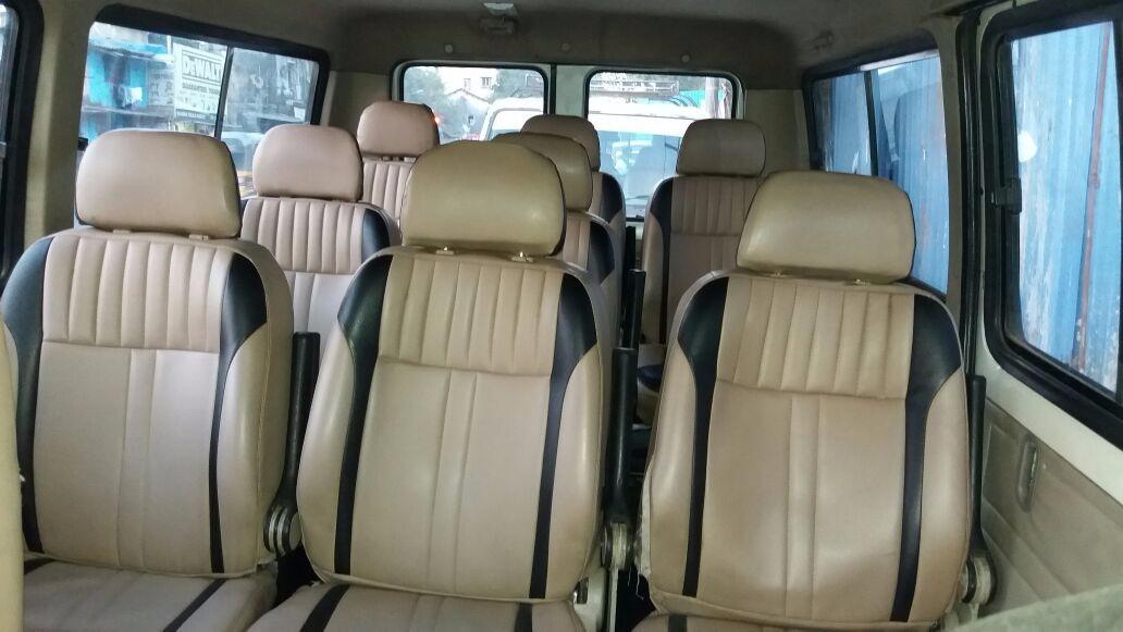 Tata Winger Interior 10 Seater