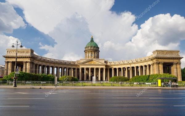 Казанский собор в Санкт-Петербурге, Россия — Стоковое фото ...