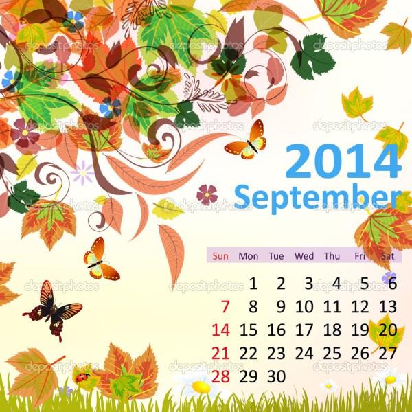 Календарь 2014 год сентябрь. Календарь на 2014 год ...