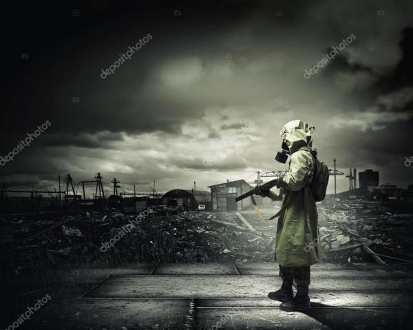 Фото сталкеров. Сталкер с пушкой — Стоковое фото ...