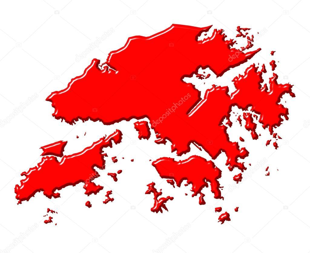 Hong Kong Map Coloring Pages