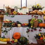 Thanksgiving Settings And Decorations In A Russian