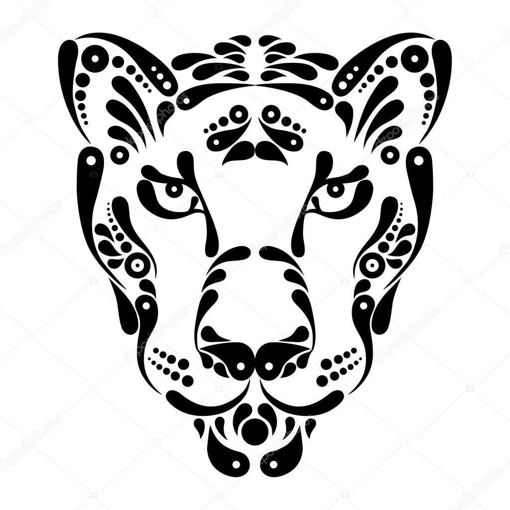 Tatuagem De Pantera Ilustracao De Decoracao Do Simbolo