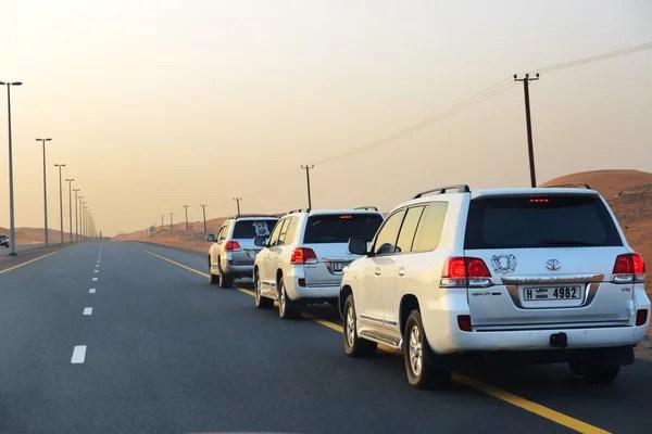 Дубай, ОАЭ - 12 сентября: Дубай пустыня путешествие в ...