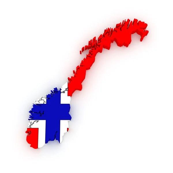 Велика Британія прапор карту фігури — Стокове фото ...