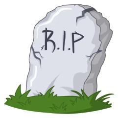 tumba de dibujos animados — Vector de stock  #7184612