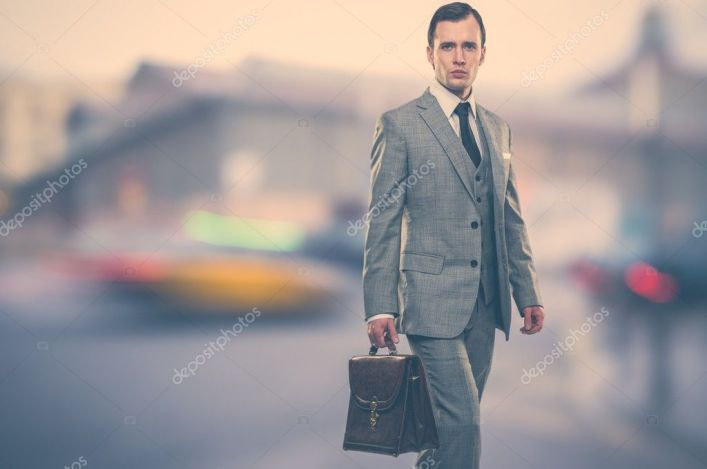 Image result for man on suit with brief case