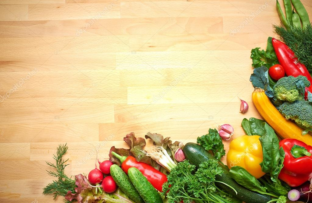 Vegetable Background Powerpoint