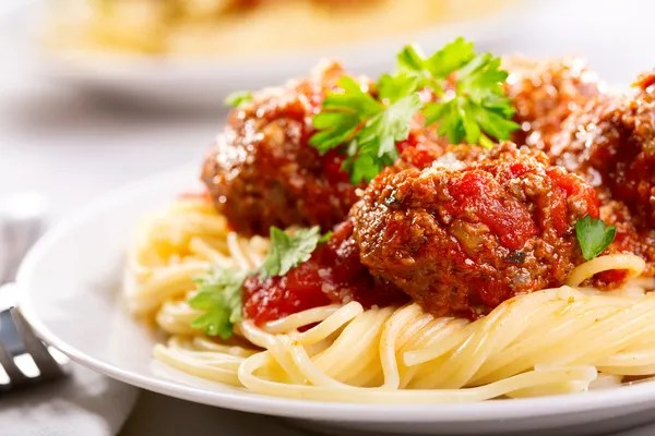 Image result for spaghetti and meatballs pictures