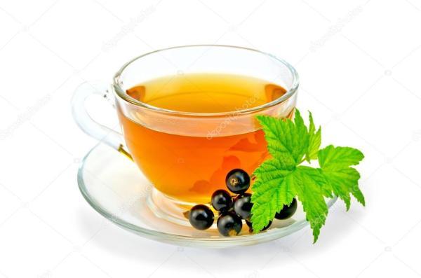 Картинки чай в чашке. Чай с черной смородиной в чашке ...