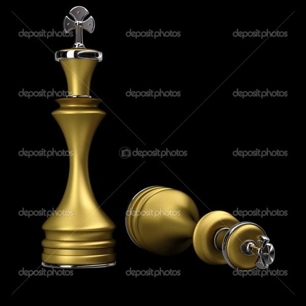 Шахматы Золотой король — Стоковое фото © ADDRicky #20753949