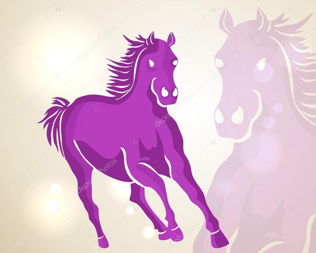 Chinese New Year Running Horse